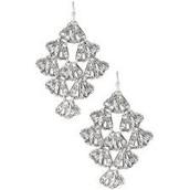Genève Lace Chandeliers Silver £14