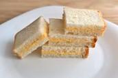 Un sandwhich au fromage