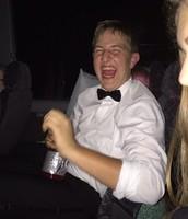 Adam didn't appreciate the flash.