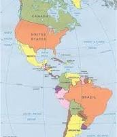 מפת האמריקות
