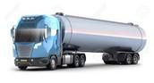 A tanker truck