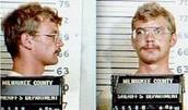 Mugshot taken immediately after being arrested in 1991
