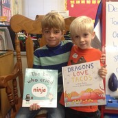 Thanks to former First Grade student Connor for being a Mystery Reader!
