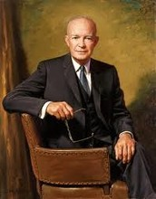 Eisenhower goes on to 1956