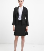 Female business attire with skirt
