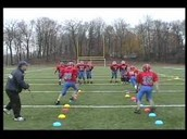 teaching football drills