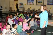 Ms. Hales Rallied the Students for the Upcoming STAR Test