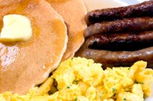 Pancake Breakfast this Sunday