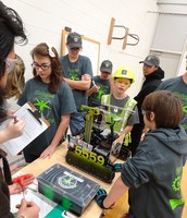 Middle School FTC competition