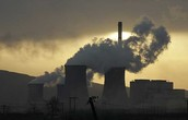 Factories causing pollution