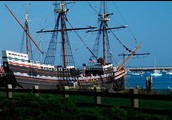 The ship that got us here! (The Mayflower)