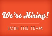 Open Positions for 2014-2015: