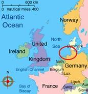 Wadden Sea Map: