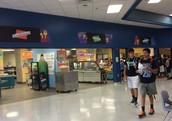 Concession Stand at Lunch