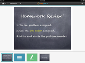 Launch a Homework Review Template