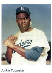 Some background information for Jackie Robinson