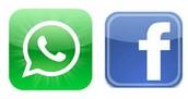 Encuéntranos en Facebook y WhatsApp