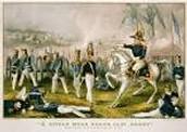 1846- US declares war on Mexico