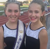 Abby Garrison & Officer Cailey Chilek