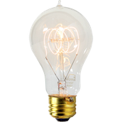 The more modern light bulb
