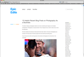 Photography Blogging!