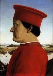 Federico da Montefeltro, Duca di Urbino.