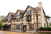 Shakespeare's hometown of Stratford-Upon Avon, England