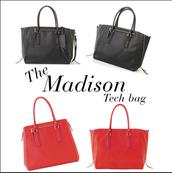 Madison Tech Black