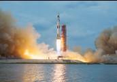 The Skylab lifting off