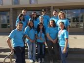 The Pow Wow Student Volunteer Crew