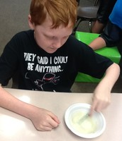 Mixing our glue