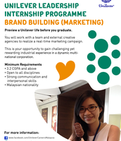 Unilever Internships
