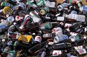 canettes et bouteilles de bière, vin, coolers,etc.