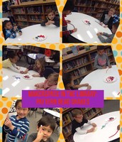 """Recognizing and creating patterns by making pattern bead snakes """"AKA Book Worms"""""""