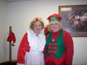 Sherry & Mrs. Claus