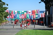 School flags