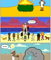 BitStrip of Moses and the Exodus