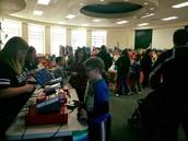 The book fair was hopping ALL week!