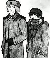 Kolya (left) and Lev (right)