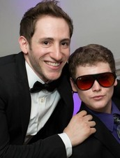 """Two comedians, two disabilities, one super cute friendship."""