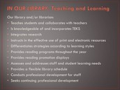 Standard I. Learner-Centered Teaching and Learning