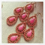 Seychelles Earrings - Pink