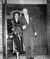 Gerald and Betty Ford's wedding