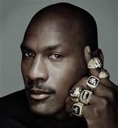 Michael's 6 championship rings
