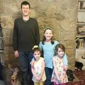 In Height Order: Sean, Katie, Ariyanna, and Sophia