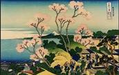 Paintings by Hokusai