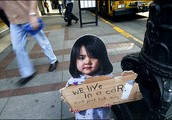 What percentage of homeless people in Australia are children?