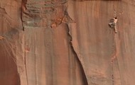 5.13 cracks in the Utah desert