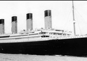 How far away was the Titanic from the iceberg when it sank?