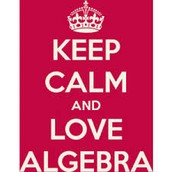 Keep Calm And Love Alegebra